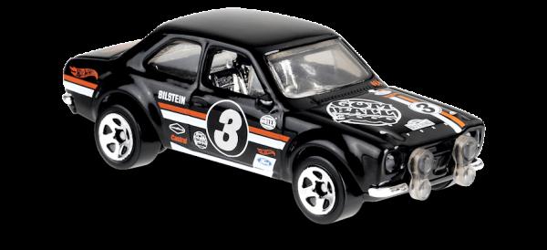Hot Wheels | '70 Ford Escort RS1600 GUM BALL 3000 black
