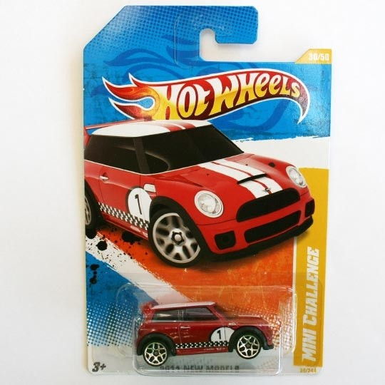 Hot Wheels | BMW MINI Cooper S Challenge rot US