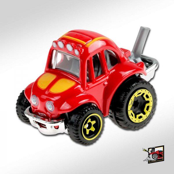 Hot Wheels | '70 Volkswagen Baja Bug Tooned red