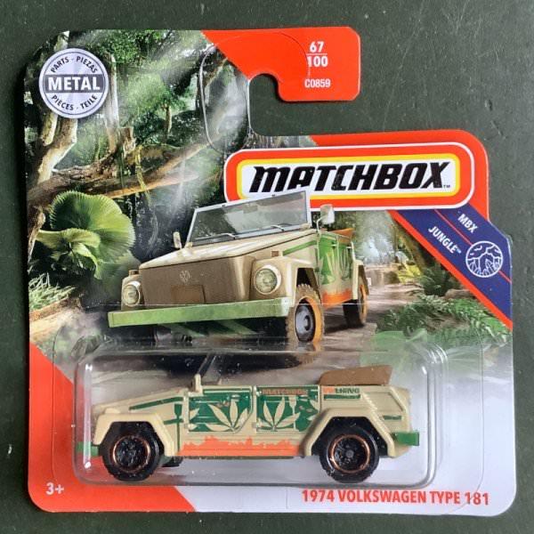 Matchbox | '74 Volkswagen Type 181 green