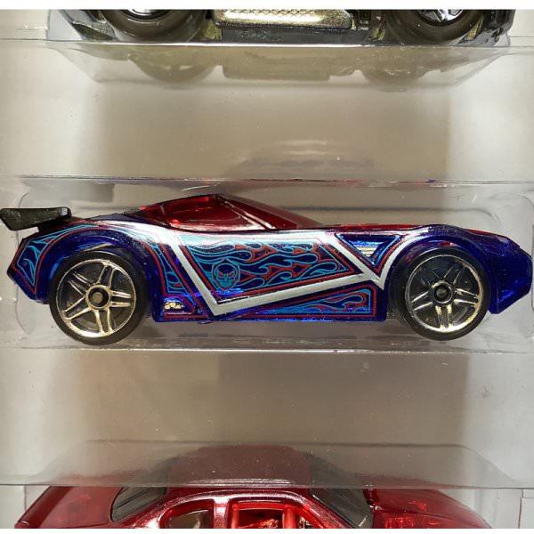 Hot Wheels | Nerve Hammer Metalflake Translucent Dark Blue ohne Verpackung