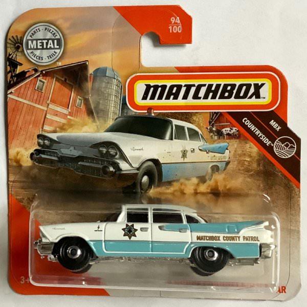 Matchbox | '59 Dodge Coronet Police Car light blue & white