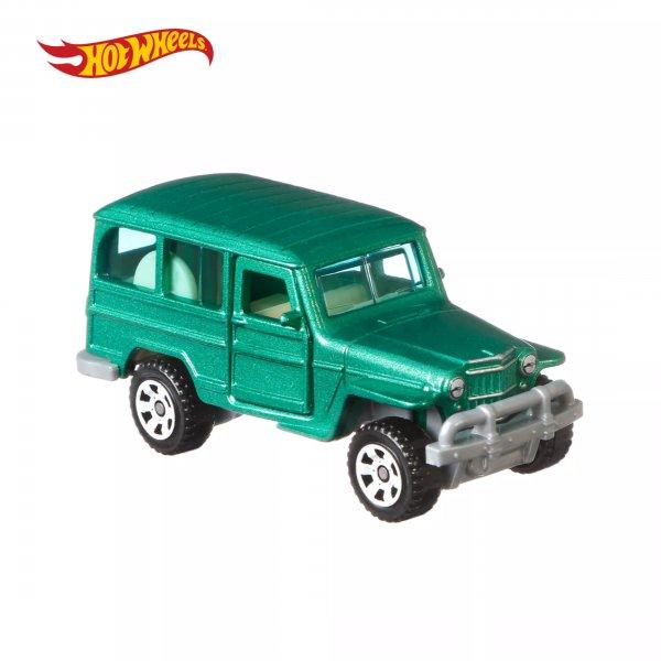 Matchbox   1962 Jeep Willys Wagon grünmetallic