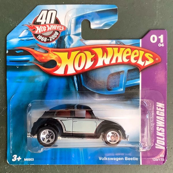 Hot Wheels | Volkswagen Beetle black/grey