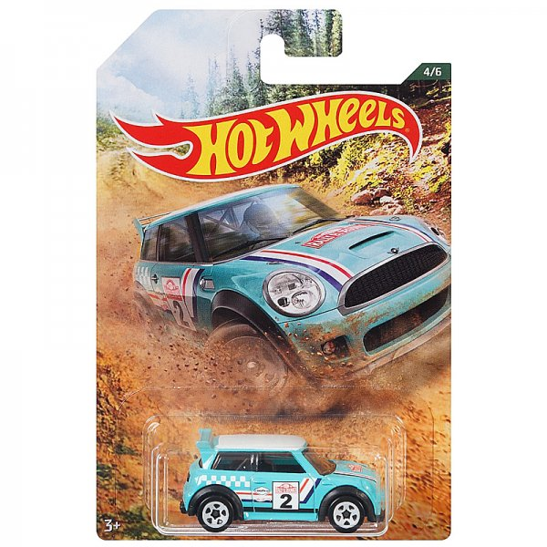 Hot Wheels | Backroad Rally Serie 04 Mini Cooper S Challenge türkis