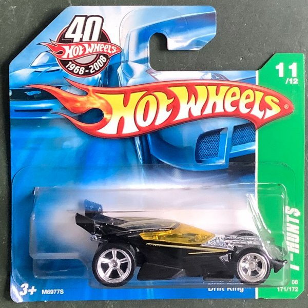 Hot Wheels | Drift King schwarz Super Treasure Hunt