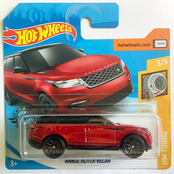Hot Wheels | Range Rover Velar dark red metallic
