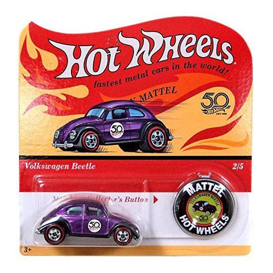 Hot Wheels | 50th Anniversary Originals Series Volkswagen Beetle lilametallic