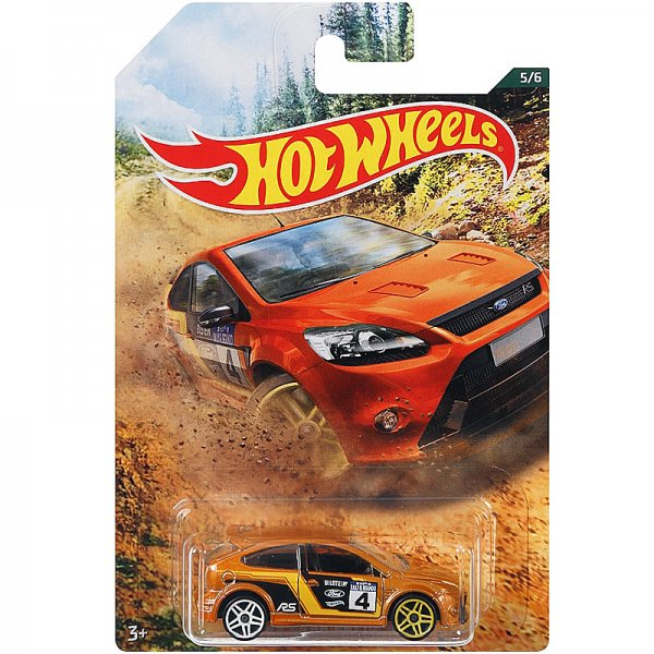 Hot Wheels   Backroad Rally Serie 05 '09 Ford Focus RS bronze