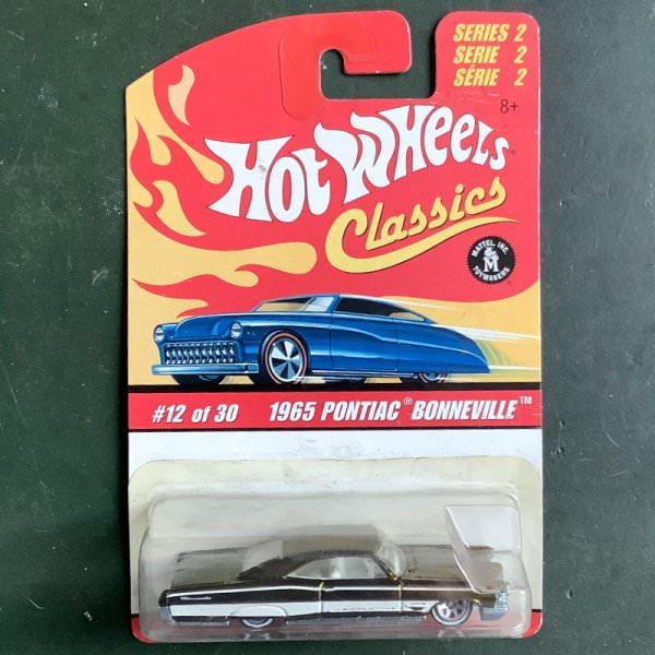 Hot Wheels | Classics Serie 2 12 of 30 1965 Pontiac Bonneville yellow-green metallic