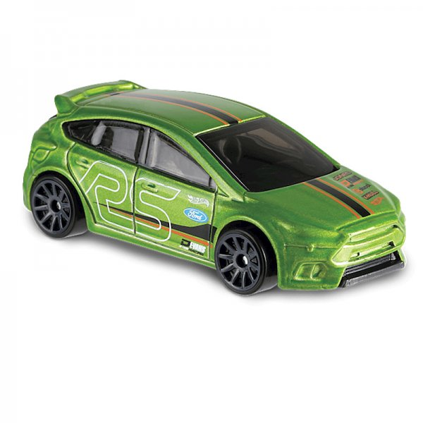 Hot Wheels | Ford Focus RS grünmetallic