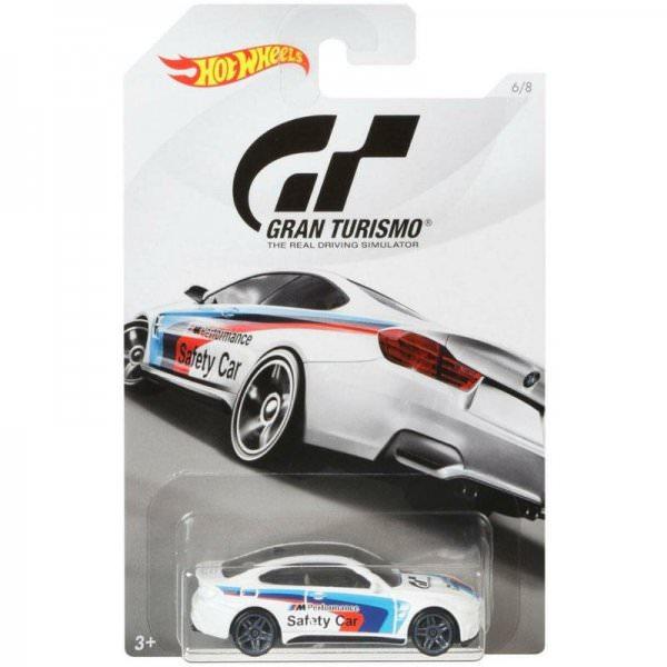Hot Wheels | Gran Turismo 6/8 BMW M4 SAFETY CAR white
