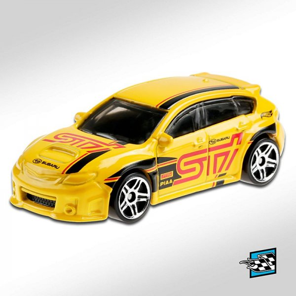 Hot Wheels | Subaru WRX STI yellow