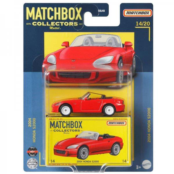 Matchbox | Collectors Serie 14/20 2004 Honda S2000 rot
