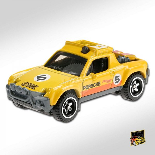 Hot Wheels | Porsche 914 Safari yellow/orange