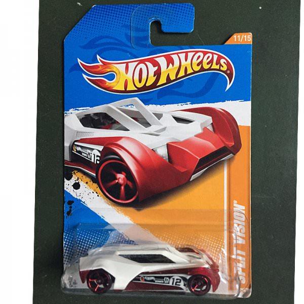 Hot Wheels | Split Vision rot/weiß US