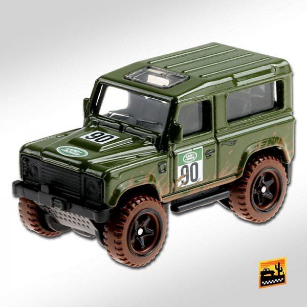 Hot Wheels | Land Rover Defender 90 olive #90