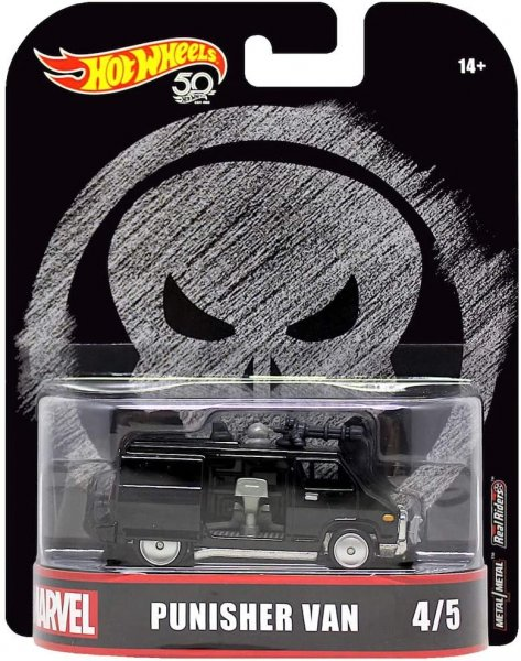 Hot Wheels | Punisher Van schwarz