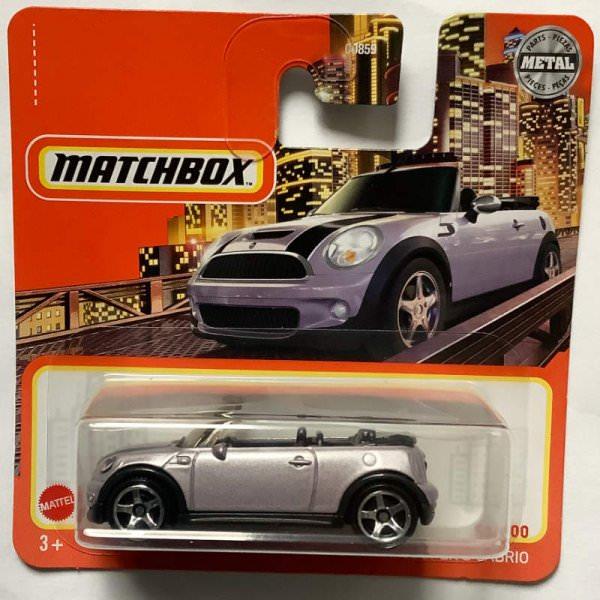 Matchbox | 2010 MINI Cooper S Convertible lilac metallic