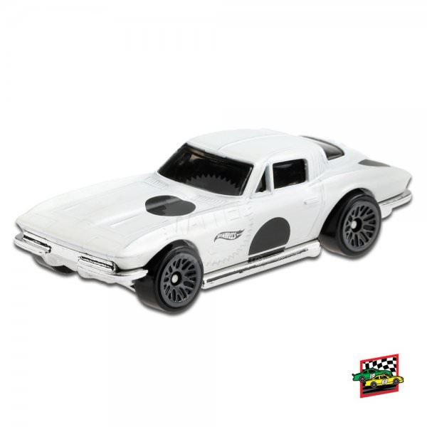 Hot Wheels | '64 Corvette Sting Ray white