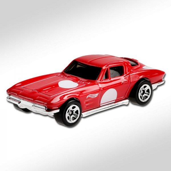 Hot Wheels   '64 Corvette Sting Ray red