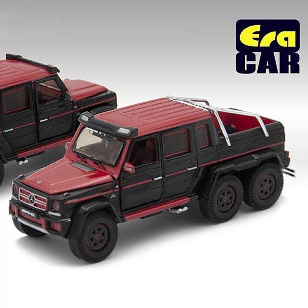 ERA Car | Mercedes-Benz G63 AMG 6x6 1st Special Edition red/black