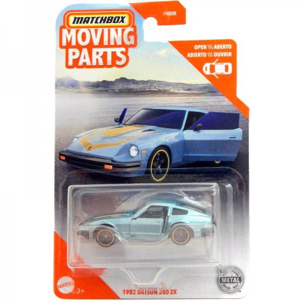 Matchbox | Datsun 280ZX hellblaumetallic Moving Parts Serie