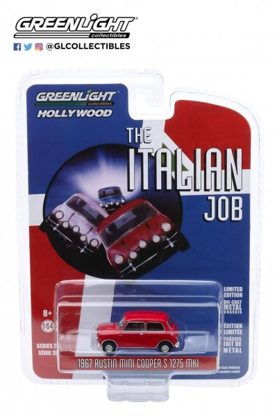 "Greenlight | 1967 Austin Mini Cooper S 1275 Mkl ""The Italian Job"" rot"