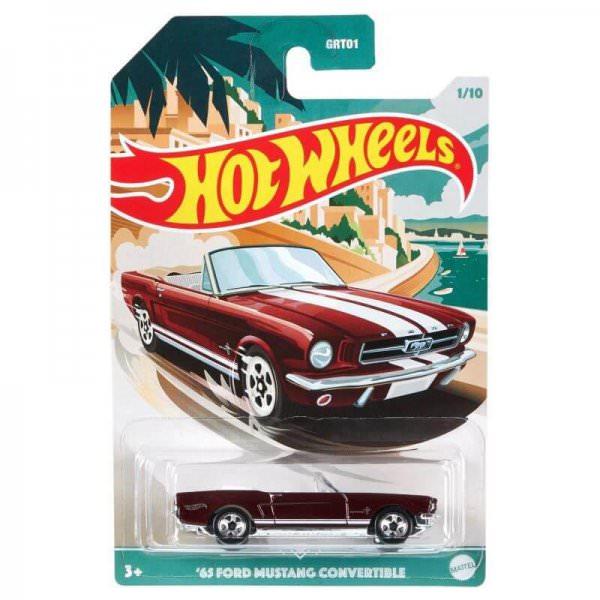 Hot Wheels | 1965 Ford Mustang Convertible dunkelrot