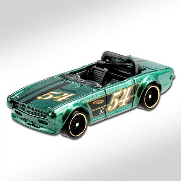 Hot Wheels | Triumph TR6 grünmetallic #54