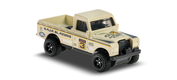 Hot Wheels | Land Rover Series III Pickup tan