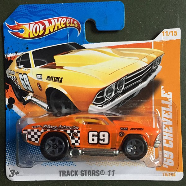 Hot Wheels | '63 Chevelle orange transparent Tooned