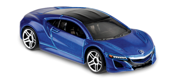 Hot Wheels | Acura NSX metallic blue