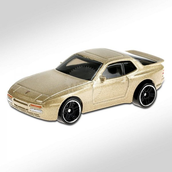 Hot Wheels | '89 Porsche 944 Turbo gold metallic