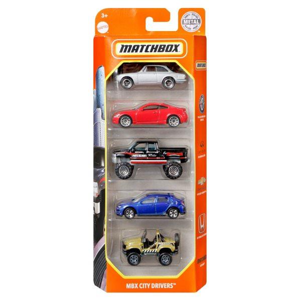 Matchbox | 5-Pack MBX City Drivers