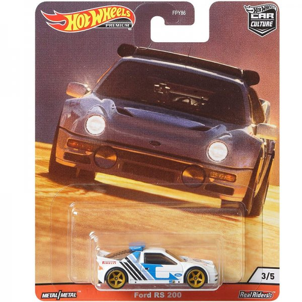 Hot Wheels | Ford RS 200 white
