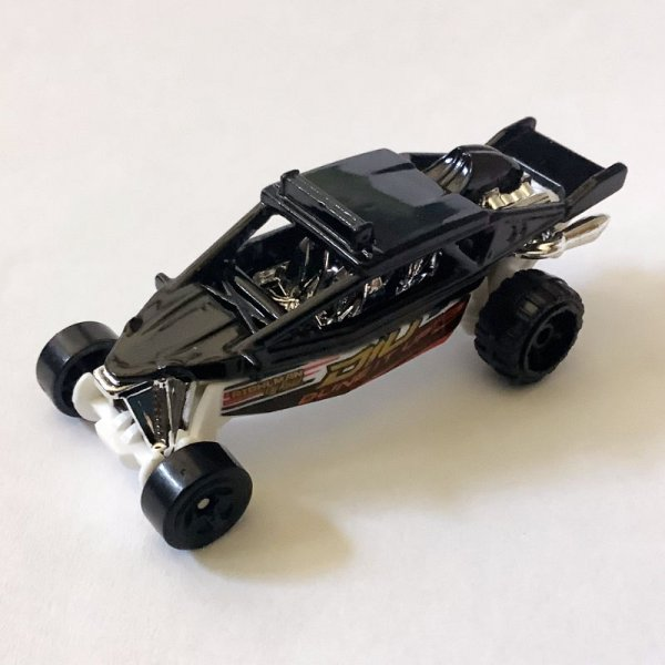 Hot Wheels   Dune it up black without packaging