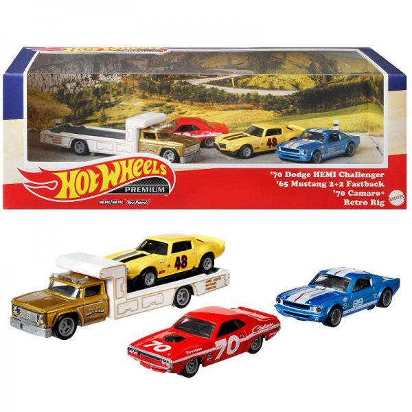 HHot Wheels | Premium Set #5 *Going to races*