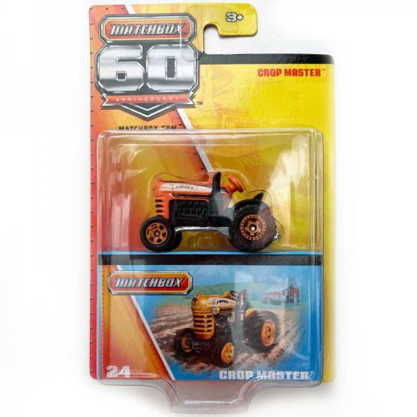 Matchbox   Crop Master orange / Matchbox 60th Anniversary