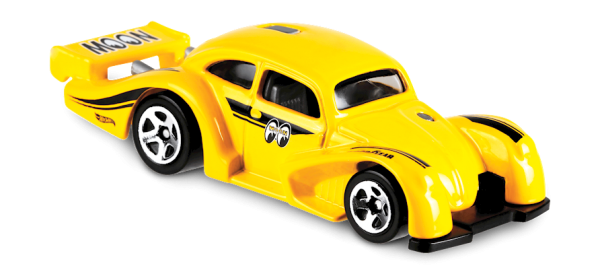 Hot Wheels | Volkswagen Käfer Racer Moon Eyes gelb