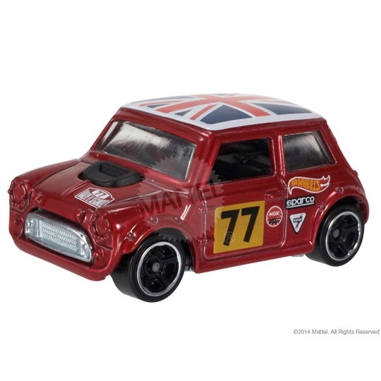 Hot Wheels | Morris Mini #77 rotmetallic US
