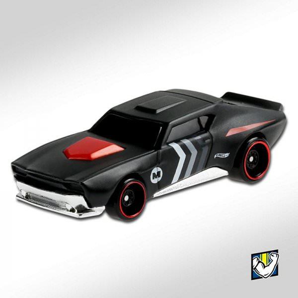 Hot Wheels | Muscle Bound matt schwarz