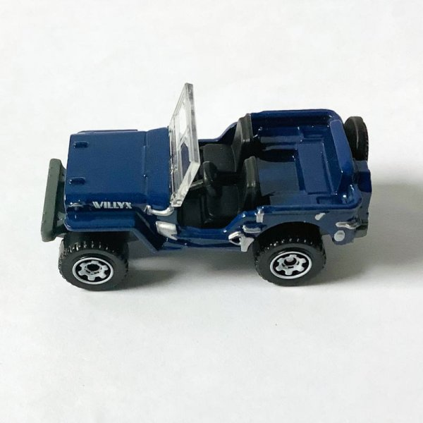Matchbox | Jeep Willys dark blue without packaging