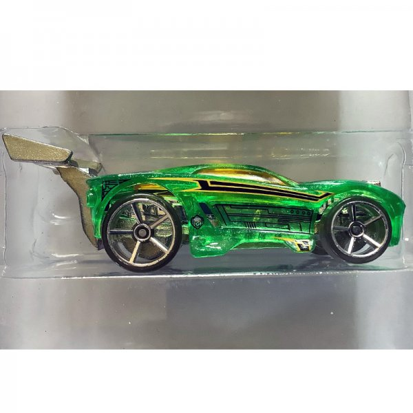 Hot Wheels | Paradigm Shift Metalflake Translucent Green without packaging