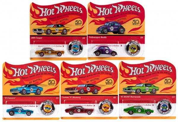 Hot Wheels | 50th Anniversary Originals Series Set