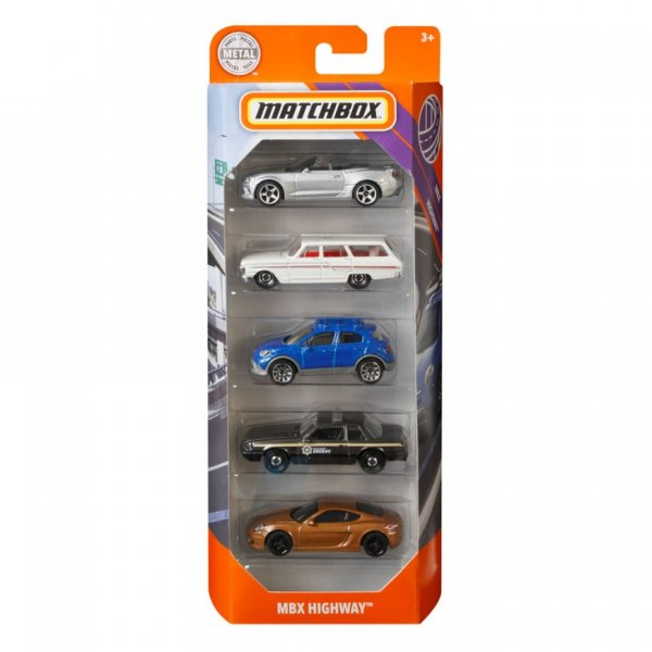 Matchbox | 5-Pack MBX Highway
