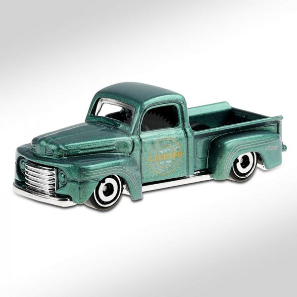 Hot Wheels | Green metallic 1949 Ford F1