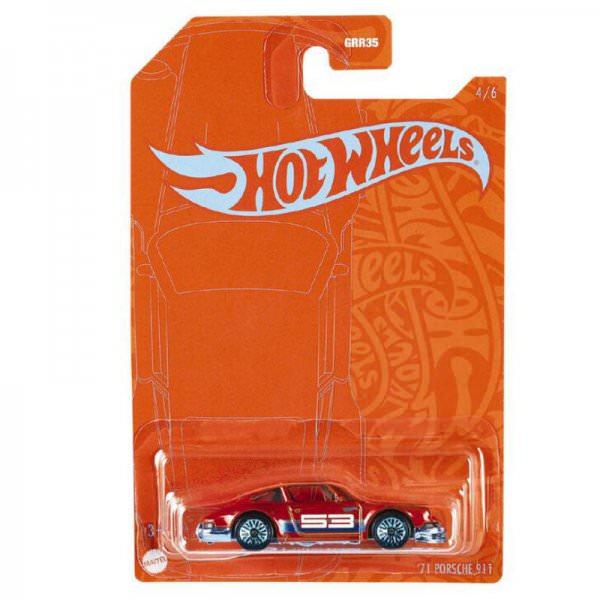 Hot Wheels | Orange & Blue 1971 Porsche 911