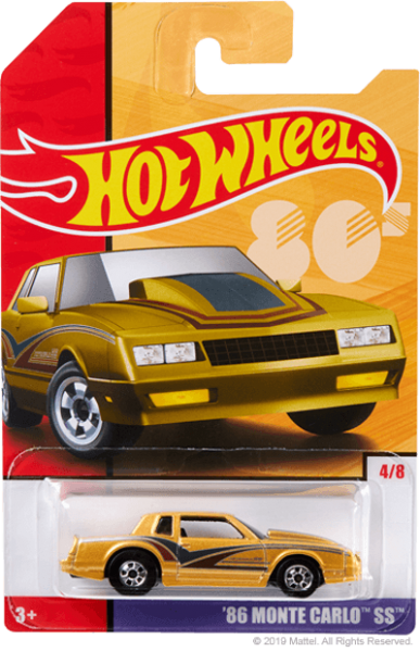 Hot Wheels | Target Throwback Editions 04 1986 Monte Carlo SS goldmetallic