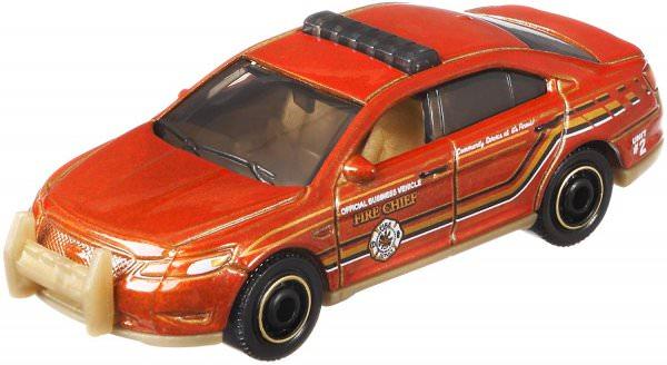Matchbox | Ford Police Interceptor FIRE CHIEF orangemetallic